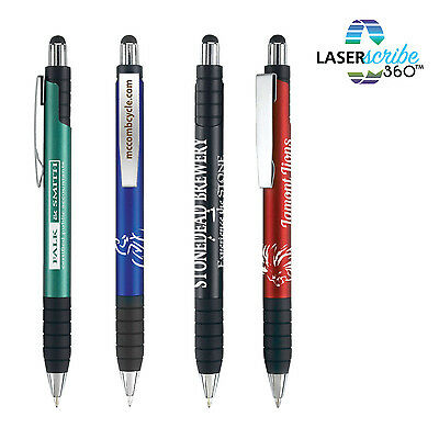 100 Executive Metal Stylus Pens Personalized Promotional Marketing Giveaway