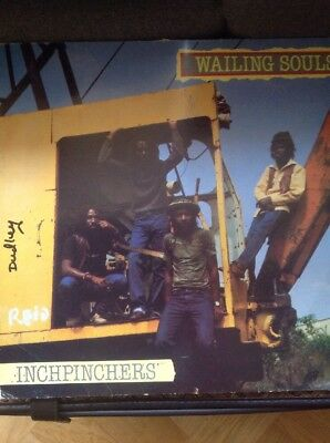 WAILING SOULS-Inchpinchers, Greensleeves Vinyl LP, GREL 47, 1982 Roots