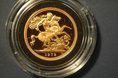 Sovereign 1979 Gold Proof with original Royal Mint Box