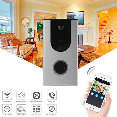 720P Wireless Smart Wifi Doorbell Video Intercom Alarm Motion Detection HS1004