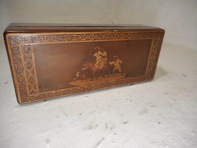 Inlaid Sorrento Ware Box   ref 3092