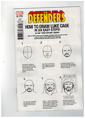 DEFENDERS #6  1st Printing - Zdarsky How to Draw Variant    / 2017 Marvel Comics