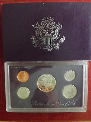 *USA KMS 1991 PP (PROOF SET)  * 1 Cent- 1/2 Dollar