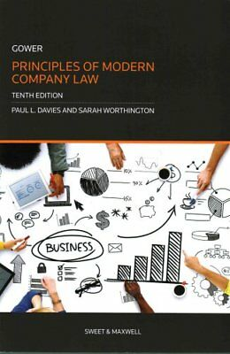 Gower: Principles of Modern Company Law by Paul Davies 9780414056268