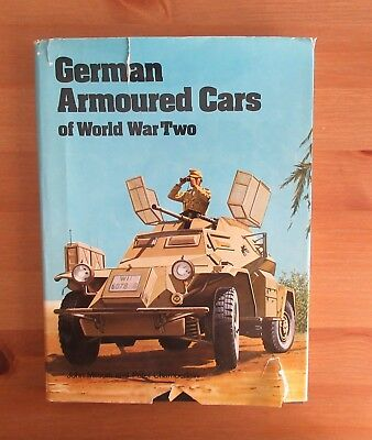 Ww2 German Armored Cars Reference Book Milsom 128 Pages