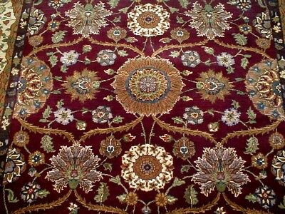 6X6 One In Million Masterpiece Mint New Hq 300Kpsi Wool Tabriz Pak Persian Rug