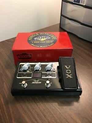 New Vox StompLab IIG Effects Pedal Stomp Lab SL2G