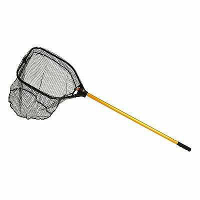 2165 Frabill Power Stow Landing Net w Hoop and Telescoping Handle 14 x 18-Inch