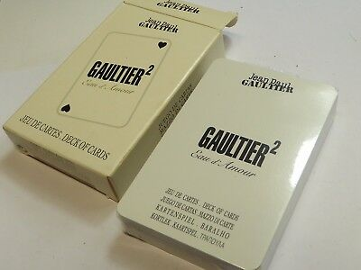 Jean paul gaultier playing card deck