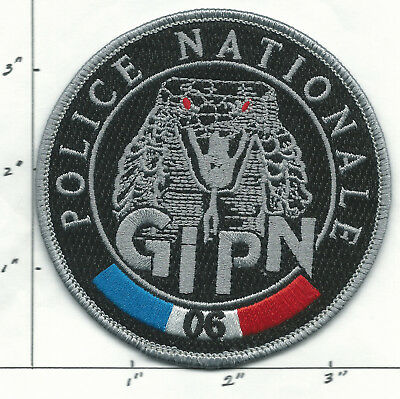 FRANCE NATIONALE POLICE,  G I P N 06,  NICE  Patch