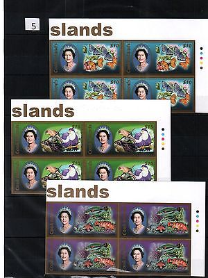 Qt 4X Cook Islands - Mnh - Flowers - Butterfly - Fish - Imperf