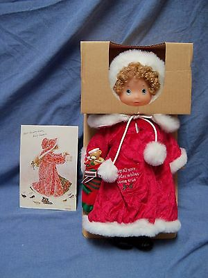 Holiday Wishes Holly Hobbie Limited Edition Doll New in Box #5406