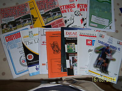 Scarborough V Hull City/mansfield Town/sheffield United 03/04 Friendlies 3 In 1
