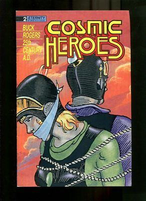 Cosmic Heroes 2-1988-Bounded Cover-Newspaper Re-Prints Vg