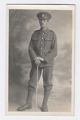 RP PC WW1 British Army . The Kings Own Shropshire Light Infantry . High Wycombe