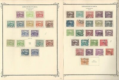 Czechoslovakia Collection 1918 to 1968 on 100 Scott Specialty Pages