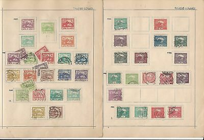 Czechoslovakia Collection 1918 to 1932 on 13 Album Pages
