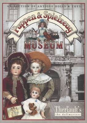 Puppen & Spielzeug Museum Auction of Antique Dolls & Toys (Book) German Bisque