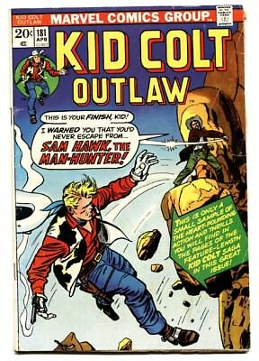 Kid Colt Outlaw #181-First appearance of IRON FIST-Predates Marvel Premiere #15