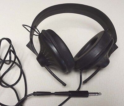 Vintage Stereo Headphones E98499 Made In Japan Working Condition