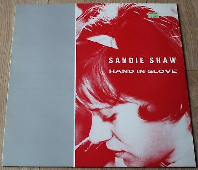 "Sandie Shaw - The Smiths - Hand In Glove - 12"" Sinle - A Fine Copy - Rough Trade"