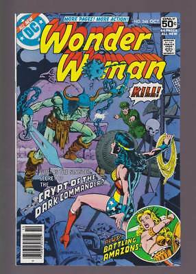 Wonder Woman # 248  Crypt of the Dark Commander !  grade 9.0 scarce book !