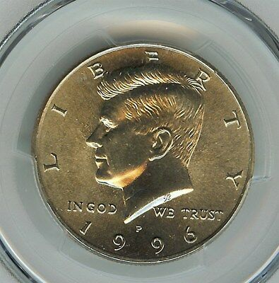 1996-P Kennedy 50 Cents  Pcgs Ms66