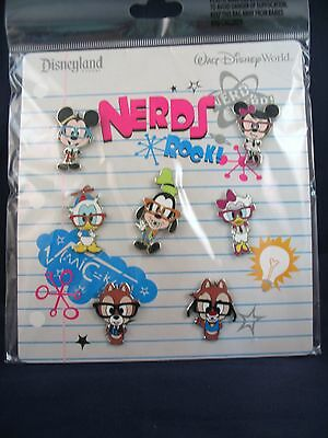 Disney Trading Pins NERDS ROCK - BODIES All of Your Favorites Booster Set of 7
