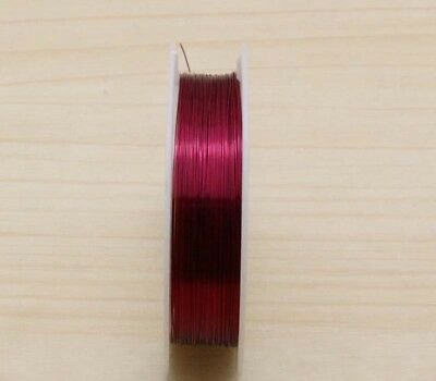 NEW 23M RED Special Copper Wire craft wire bead wrap jewelry making