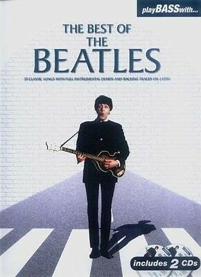 Play Bass with ... The Best of The Beatles Noten Tab mit 2 Play-Along CDs
