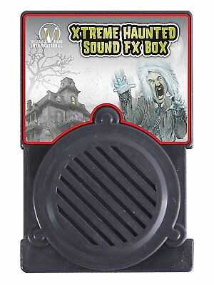 Haunted Sound FX Box -Halloween Spine Tingling Sounds Party Decoration Prop 6513