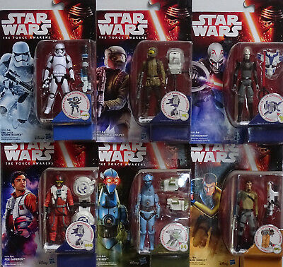 HASBRO® Star Wars® THE FORCE AWAKENS Konvolut mit 6 Figuren (10cm)