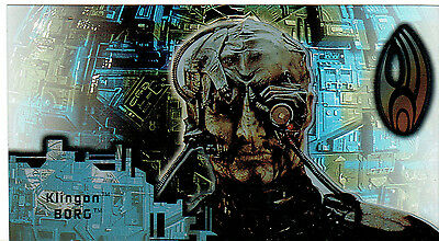 Star Trek First Contact Borg Techo-Cell Card B4