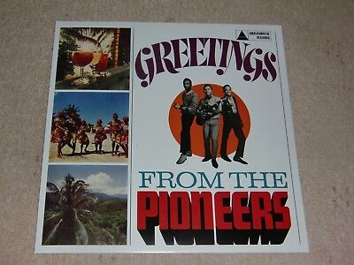 Pioneers. Greetings From The Pioneers. Almgamated Amgl 2003 (Brilliant Lp).