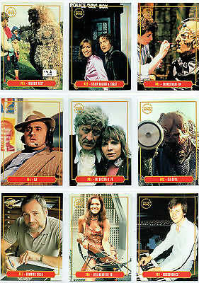 Doctor Who 40Th Anniversary 10 Card Preview Set