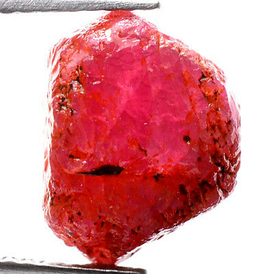 UNHEATED! 11.35ct NATURAL100% UNHEATED RUBY ROUGH SPECIMEN NR!