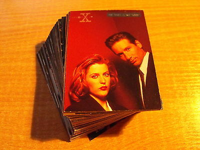 X Files Season 3 Complete Set Of Parallel Foil Cards