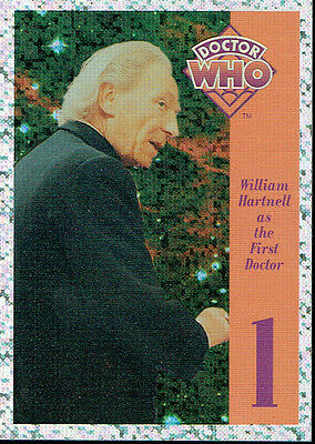 Doctor Who Cornerstone Series 1 Foil Card 1