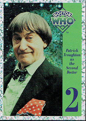 Doctor Who Cornerstone Series 1 Foil Card 2