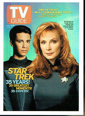 The Quotable Star Trek The Next Generation Tv Guide Card Tv5 (Usa)