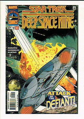 The Quotable Star Trek Ds9 Comic Book Card Cb9