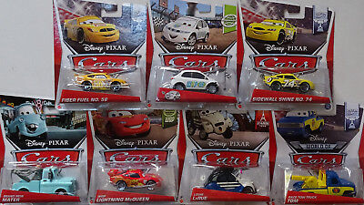 MATTEL® Disney® Cars Konvolut mit 7 Cars in 1:55