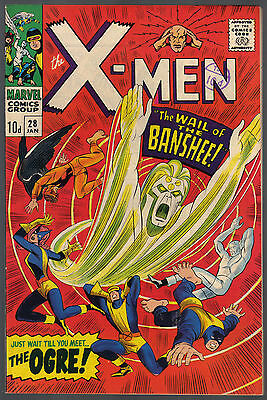 The X-Men Issue Number 28 By Marvel Comics