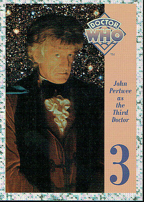 Doctor Who Cornerstone Series 1 Foil Card 3