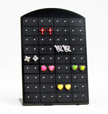 36 Pair Black Stand Organizer Jewelry Holder Showcase Tool Rack Earrings Display