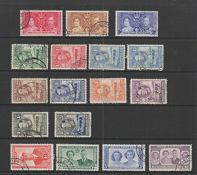 Bechuanaland KGVI fine used collection