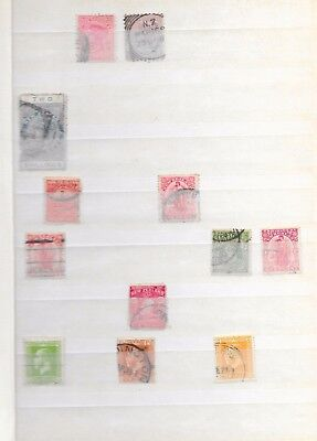 New Zealand Stamp Collection 235 stamps 14 pages Victoria to 1977 postalrevenue