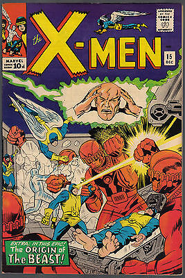 The X-Men Issue Number 15 By Marvel Comics