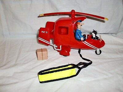 Postman Pat Special Delivery SDS PAT 3 Helicopter + Figures