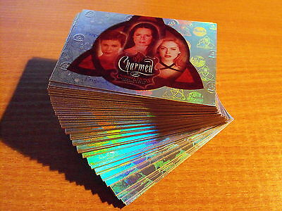 Charmed Connections Complete Set Of 72 Parallel Cards